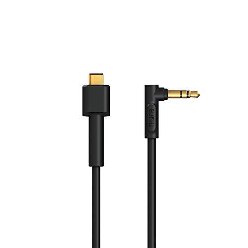 Nura Cable de conexión analógico para Nuraphone con conector jack de 3,5 milímetros | Nuraphone se conecta a cualquier dispositivo analógico | 1,2 metros | no para cargar
