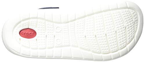 Crocs Literide Clog, Zuecos Unisex Adulto, Azul (Navy/Pepper), 41/42 EU