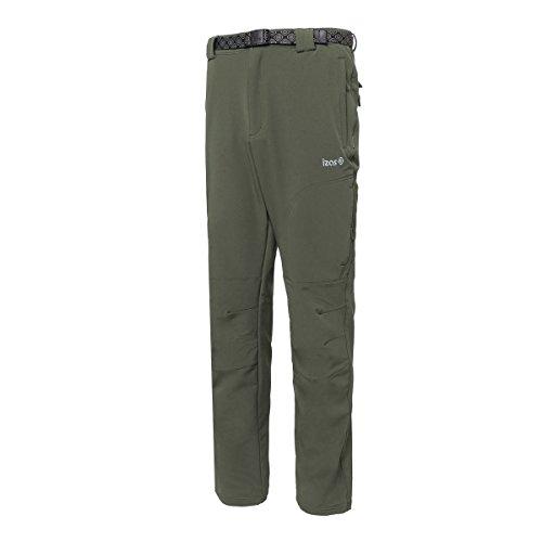 IZAS Chamonix Pantalon de Montagne Homme, Kaki, FR : 3XL (Taille Fabricant : XXXL)