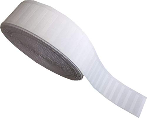 Pure White Deep Pinch Pleat Tape 6 Yards (6-Yards)