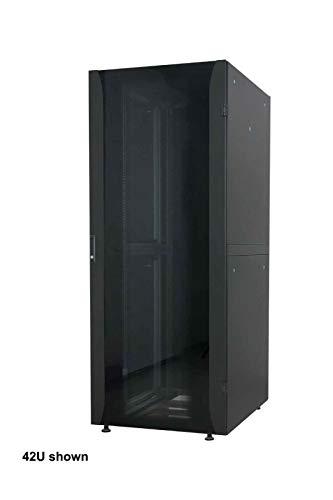 Intellinet 715485 - Armario de Red (48,26 x 600 x 800 mm, Paquete Plano), Color Negro