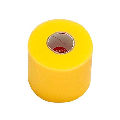 Queraltó Pretape Prevendaje de Fina Espuma, Protege la Piel del Vendaje Adhesivo, Amarillo, 7 cm x 27 cm