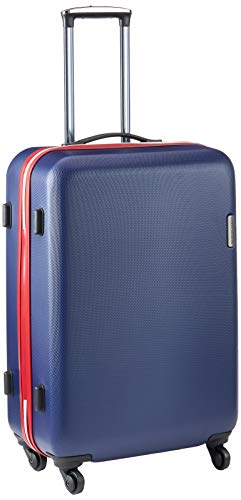 WITTCHEN Koffer – Handgepäck | hartschalen, Material: ABS | hochwertiger und Stabiler | Dunkelblau | 27 L | 55x36x20 cm