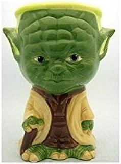 NEW Painted Rare STAR WARS Collectible Ceramic Mug Cup Gift Yoda Goblet 5 3/4