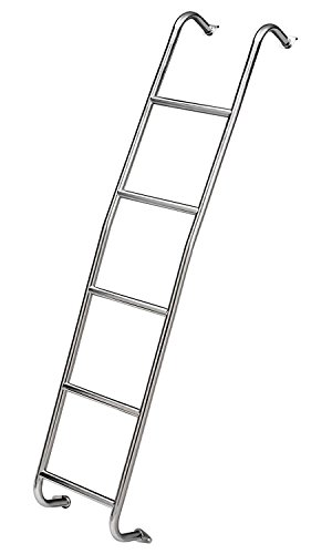 Surco 093TM Stainless Steel Van Ladder for Ford Transit (Medium Roof)