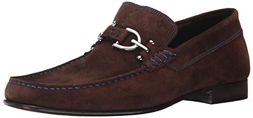 Donald J Pliner DACIO2 Expresso - Zapatos de Piel para Mujer (38 EU), Color Marrón, Talla 45 EU