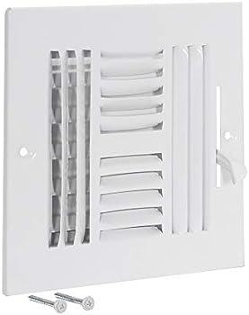EZ-FLO Four-Way Sidewall/Ceiling Register