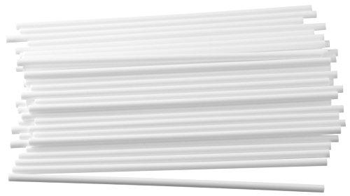 Dr. Oetker Sticks für CakePops und Lollis, 48 Spießer für leckere Köstlichkeiten, Sticks für Kuchen am Stiel, Kuchenlollis, (Farbe: weiß), Menge: 1 Stück