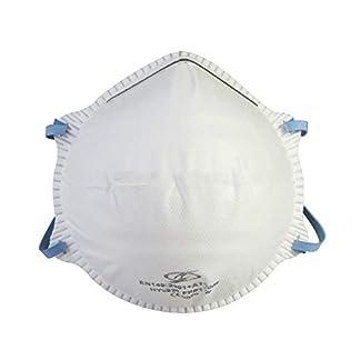 20 máscaras de protección respiratoria FFP1 sin válvula. Calidad de marca (no FFP3/FFP2).