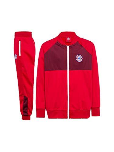 FC Bayern München Trainingsanzug Logo Kids Bordeaux/rot, 140