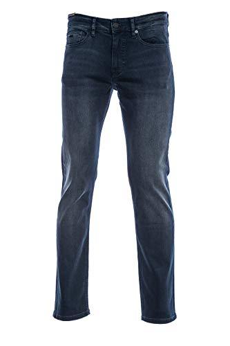 BOSS Herren Delaware BC-L-P Slim Jeans, Blau (Dark Blue 407), W38/L34 (Herstellergröße: 3834)