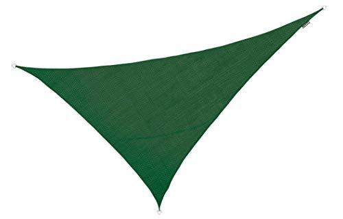Kookaburra Tenda A Vela Triangolo Rettangolo 6,0M X 4,2M Traspirante Intrecciata Protezione Anti Raggi 90% UV Per Ombreggiare Il Giardino, Terrazzo O Balcone (Blu)