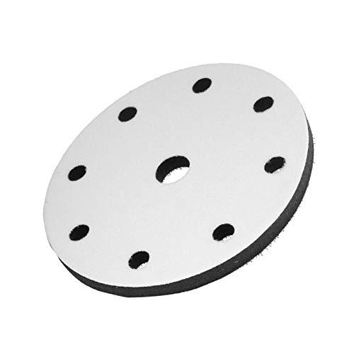 Almohadilla de interfaz, almohadilla suave para lijar con amortiguación suave de reducción de ruido, máquina de pulir para(6 inch 9 holes)