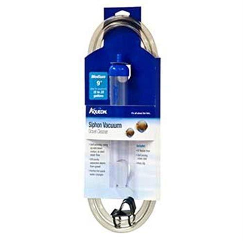 Aqueon Medium Siphon Vacuum Aquarium Gravel Cleaner, 9'