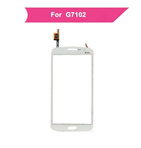 MrSpares Touch Screen Digitizer Panel for Samsung Galaxy Grand 2 G7105 G7102 G7106 G7108 : White