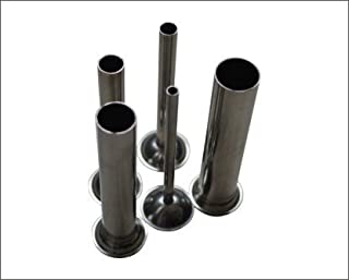 Hakka 5 Sizes of Stainless Steel Tubes for Manual Sausage Stuffer