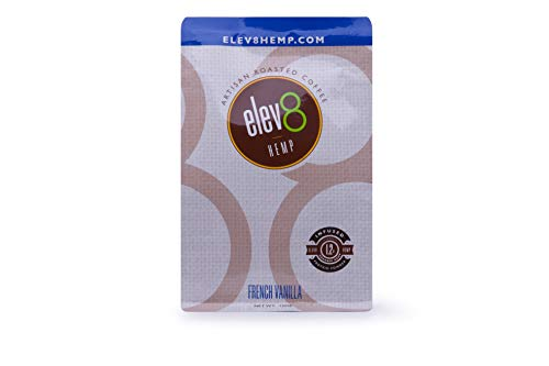 Elev8 Hemp Coffee - French Vanilla 12 oz