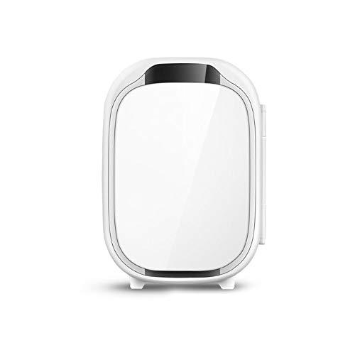 VLERHH Mini-Réfrigérateur Grande Capacité, Voiture De Maquillage Réfrigérée pour La Maison, Boîte De Chauffage Et De Refroidissement À Double Usage, Refroidissement Rapide