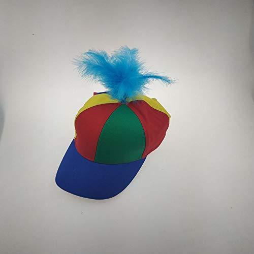sdssup Feder Baseball Cap Kind Eltern-Kind Spielzeug persönlichkeit treten Skorpion Cap blau Erwachsene (56-61 cm)