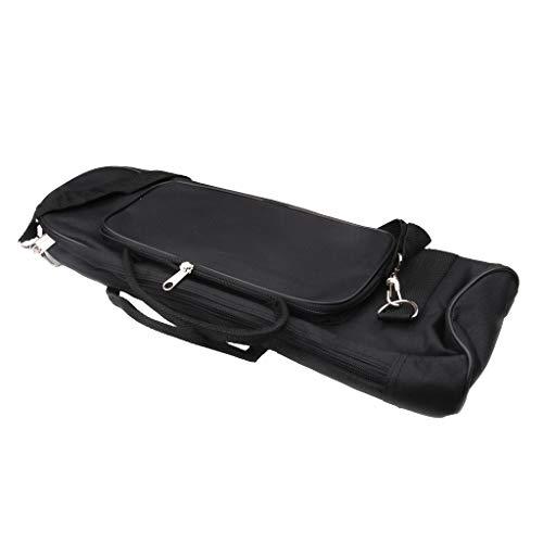 SM SunniMix 1 Stück Trompete Tasche mit Verstellbarer Schultergurt und Gegriffener Griff Trompete Gig Bag gepolsterte Tasche