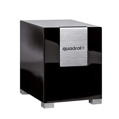 Quadral Subwoofer Qube 12 schwarz Pianolack