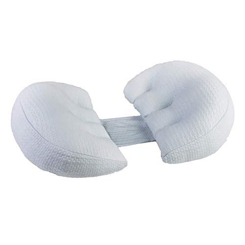 Oreillers de grossesse for dormir Coussin d'allaitement 3D en spirale Sept trous fibre grossesse oreiller - Maternité Coussins d'allaitement Nursery Coussins Coussin Plein corps, Soutien et l'alimenta