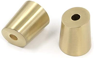 Brass furniture leg caps _image0