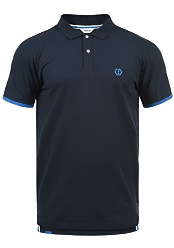 !Solid BenjaminPolo Herren Poloshirt Polohemd T-Shirt Shirt Mit Polokragen, Größe:M, Farbe:Insignia Blue (1991)