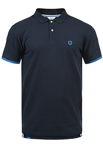 !Solid BenjaminPolo Herren Poloshirt Polohemd T-Shirt Shirt Mit Polokragen, Größe:XL, Farbe:Insignia Blue (1991)