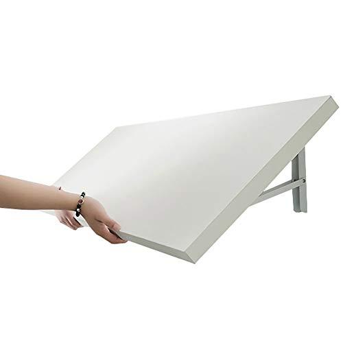 YXX-mesa plegable pared Plegable de alas abatibles mesa de madera, pared de la cocina Montada Pequeño escritorio de la tabla, Ordenador portátil PC de la tabla de estaciones de trabajo, comedo