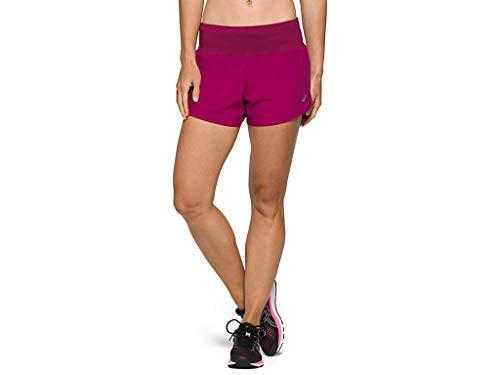 ASICS Road - Ropa de correr corta para mujer - Rojo - Medium 3.5 US