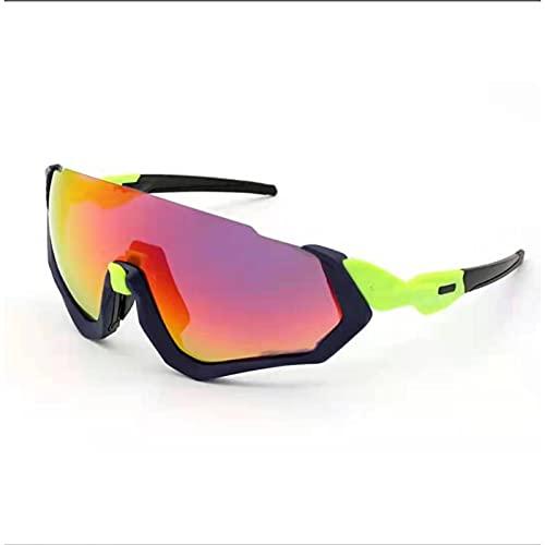 CYYS Gafas de Sol de Ciclismo, Gafas de Ciclismo Deportivas para Hombres, Gafas de Ciclismo Anti-UV para Mujer, Adecuado para Conducir, Correr, Pescar
