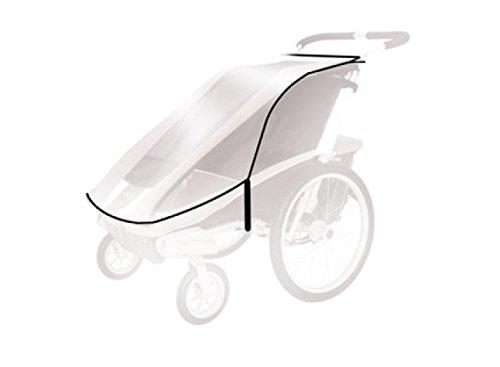 Thule Baby für Chariot Cheetah 1 Spritzschutz, transparent, One Size
