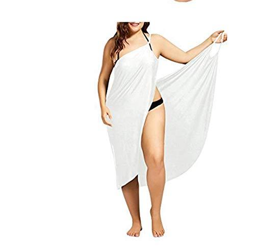 Jurk Rok Jurken Dames Sexy Vrouwen Strand V-Hals Sling Jurk Handdoek Backless Badmode Cover Up Warp Femme Tropische Jurken