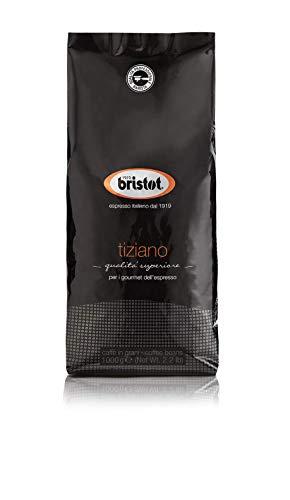 Bristot Tiziano Premium Quality Italian Coffee Beans | Italian Espresso Beans Whole | | 2.2 lb/1kg