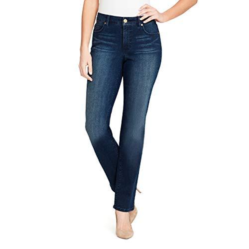 Bandolino Women's Plus Size Mandie Signature Fit 5 Pocket Jean, Night Fall, 22W