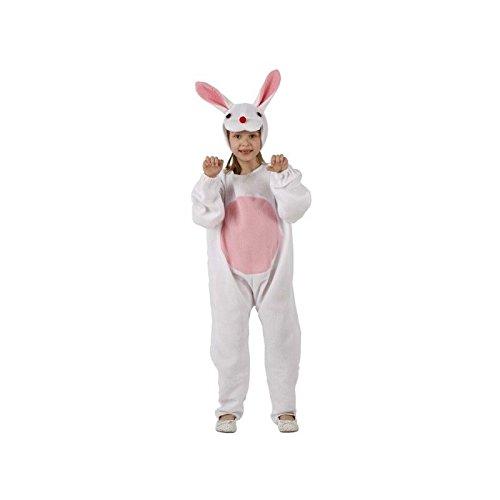 Atosa - 95532 - Costume - Déguisement De Petit Lapin Blanc 7-9 Ans