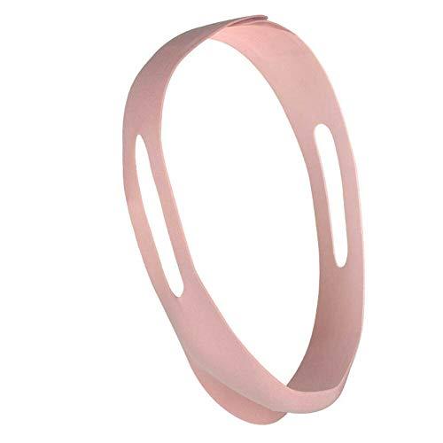 th Verstellbarer Soft Magic-Aufkleber, Atemkorrektur, Antiportable Household Soft und Comfort Face Lifting Belt 2pc (Rosa)
