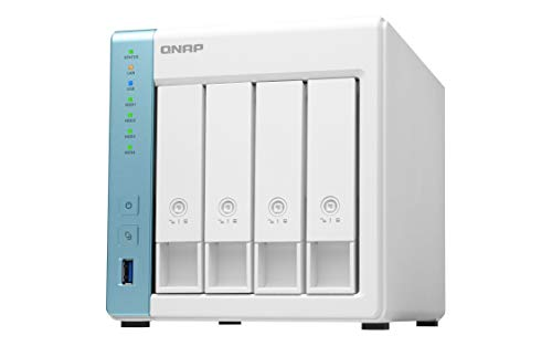 QNAP TS-431K Server Nas e di archiviazione Nas/DiskStation TS-431K / 4-bay/Diskless/Annapurna Labs Alpine AL-214 1.7GHz Quad Core