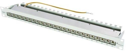 Herweck AG Telegärtner Patch Panel Cat. 6A 24-Port geschirmt