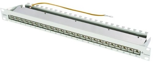 Telegärtner Patch Panel Cat. 6A 24-Port geschirmt