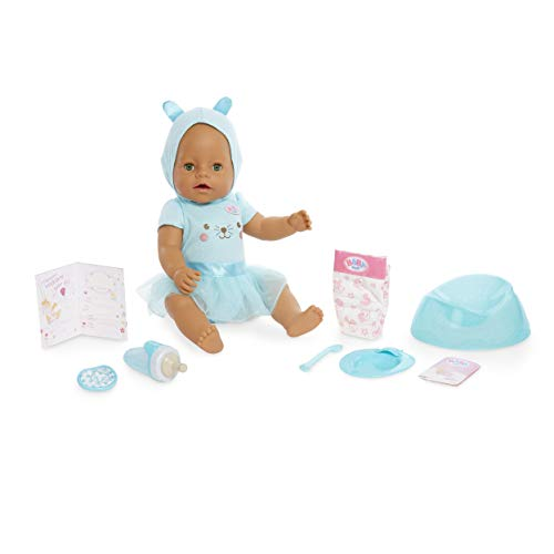 Baby Born Interactive Doll - Green Eyes with 9 Ways to Nurture