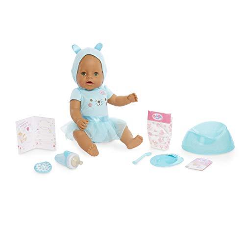Baby Born Interactive Doll – Green Eyes with 9 Ways to Nurture