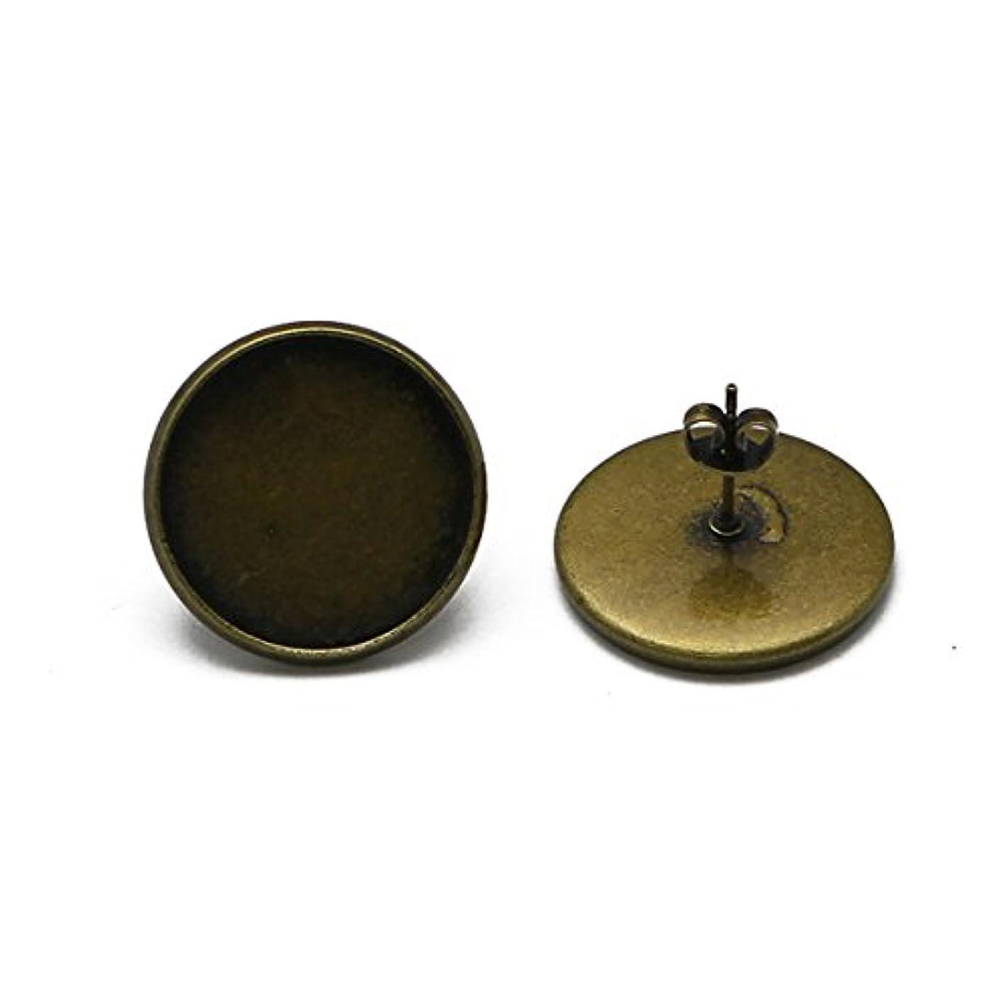 Brass most fashion diy jewelry unique design post earring 8mm stud earring post of stud earrings ssjxnvzqqwx338
