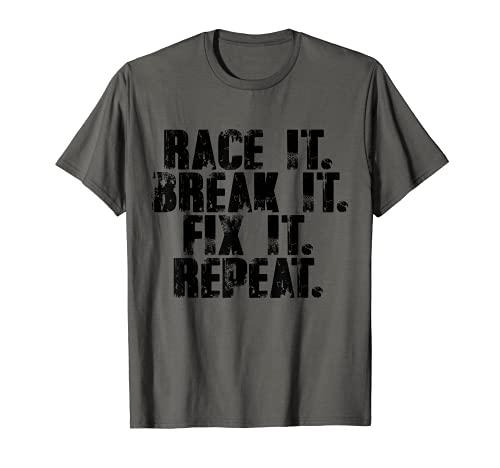 Race It Break It Fix It Repeat...