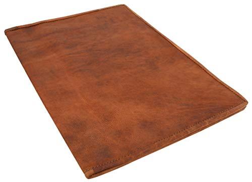 Gusti Lederumschlag Leder - 'Brenda' Buchhülle Buchumschlag Braun Leder Vintage Lederumschlag Buchhülle Buchumschlag Braun Leder Vintage