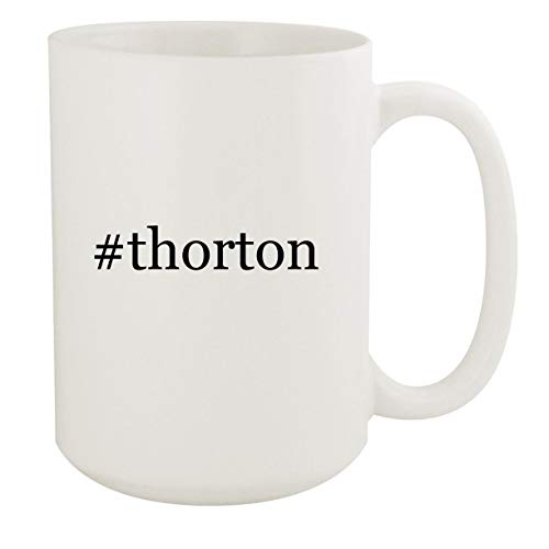 #thorton - 15oz Hashtag White Ceramic Coffee Mug