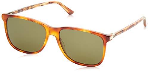 Gucci 0017S_004 (57 mm) gafas de sol, Havana, 57 para Hombre