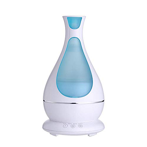 Fashion Romance 3D Glass Aromatherapy Machine Multicolor PerGrate Humidifier Oil Diffuser 3D Glass Aromatherapy Mist Sprayer for Home Office Sleep
