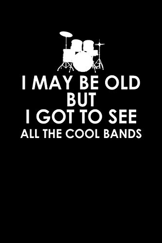 I may be old but I got to see all the cool bands: 110 Game Sheets - 660 Tic-Tac-Toe Blank Games | Soft Cover Book for Kids for Traveling & Summer ... | 15.24 x 22.86 cm | Single Player | Funny G